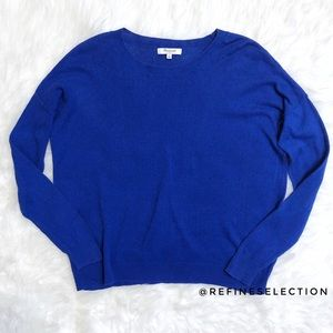 Madewell Royal Blue Long Sleeve Top